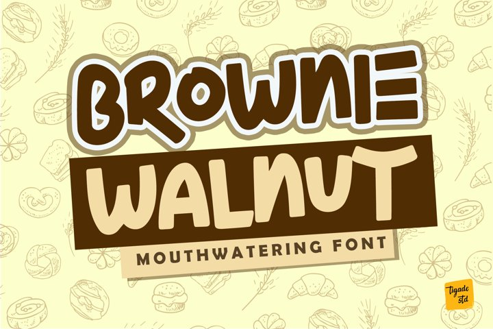 Brownie Walnut