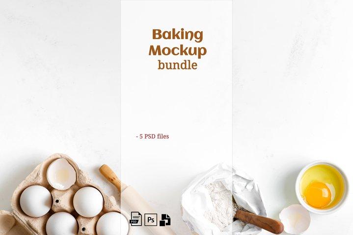 Baking Mockup Set