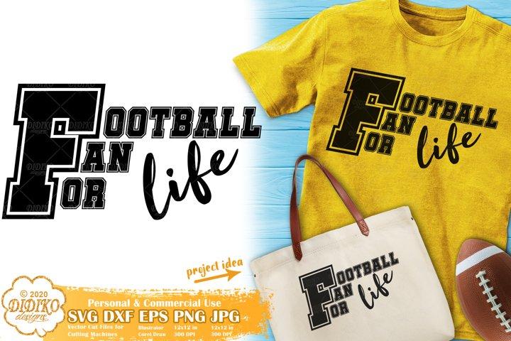 Football Fan SVG | Football SVG | Football Mom SVG