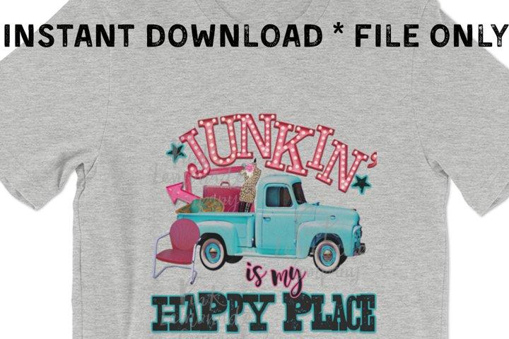 Junkin is My Happy Place digital file