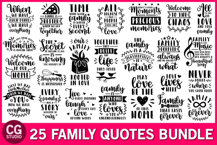 Family svg bundle, family quotes svg, home svg, love svg