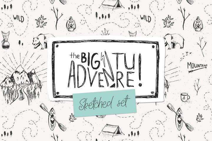 Big Adventure | Sketched Set