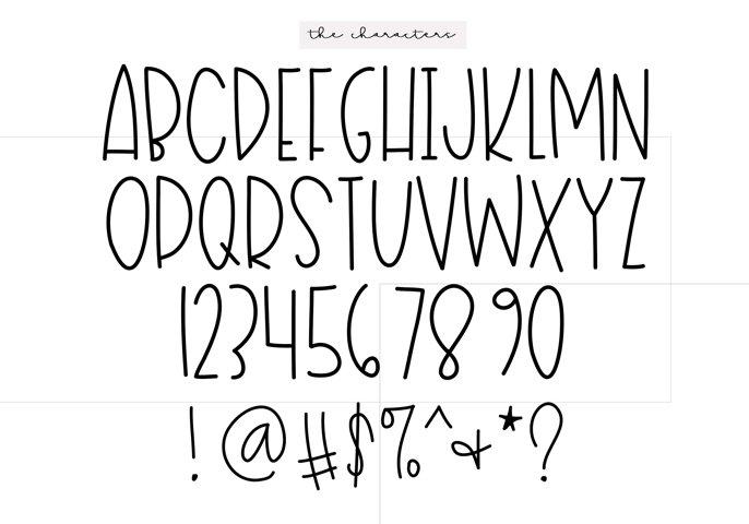 Sailboat - A Fun Handwritten Font - Free Font of The Week Design2