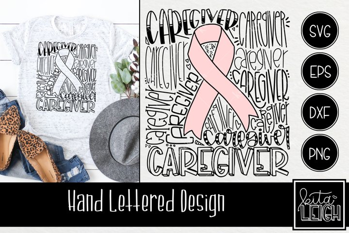 Caregiver Awareness Typography