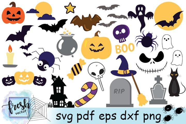 Halloween Svg Bundle Halloween Clipart Halloween Decor Party
