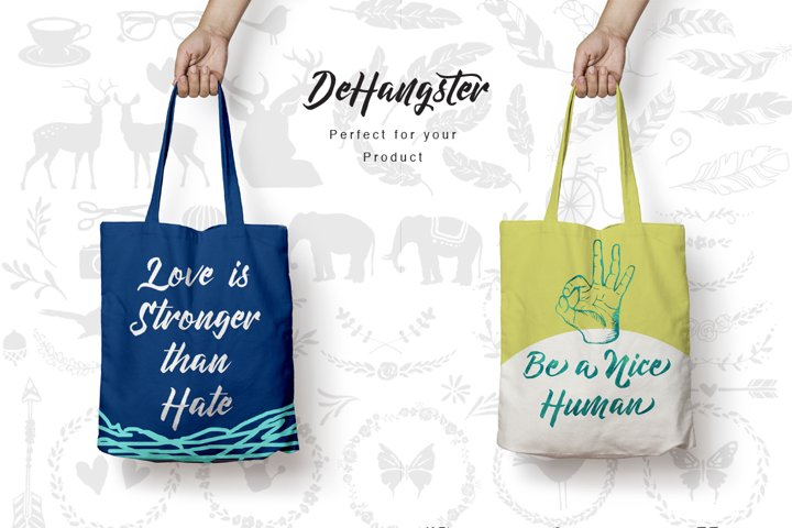DeHangster Typeface - Free Font of The Week Design1