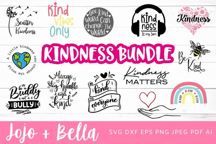 Kindness SVG Bundle - 32 Designs