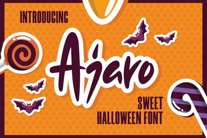 Ajaro - Sweet Halloween Font