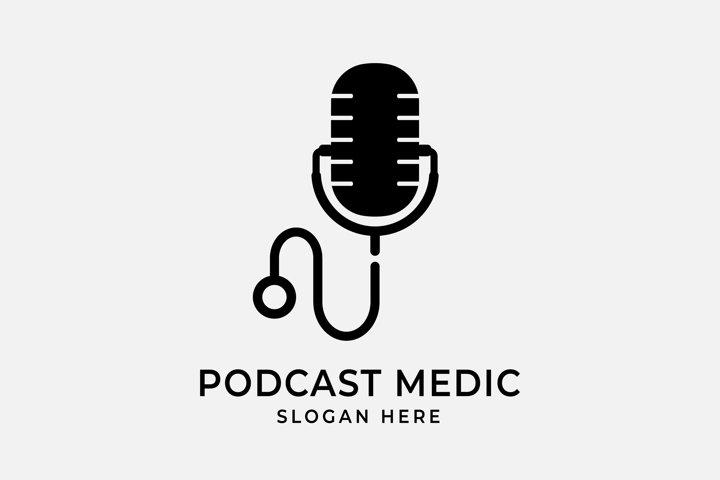 Podcast Medic logo design