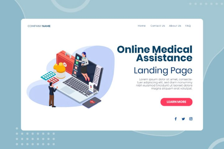 Online medical assistance with ranking info