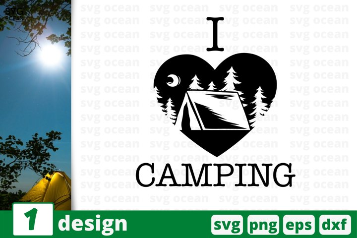 Camping SVG cut file, camping svg for cricut