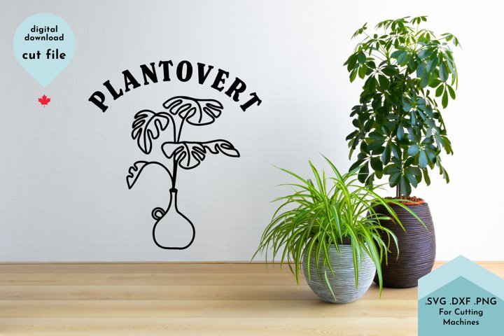 Funny Plant svg, Plant Mom, Gardening, Plantovert example 2