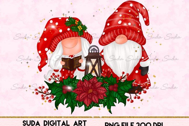 Christmas Gnomes Sweet Sublimation