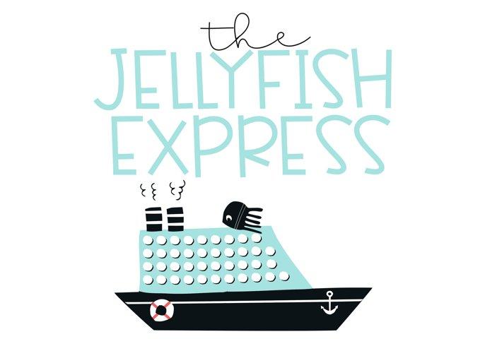 Jellyfish - A Fun Handwritten Font - Free Font of The Week Design0