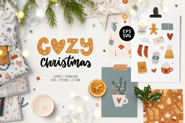 Christmas Clipart   Patterns & Cards