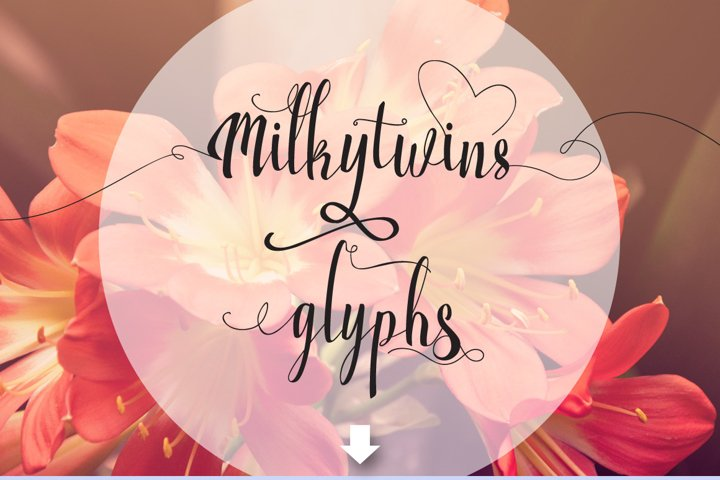 Milkytwins Modern Wave Calligraphy - Free Font of The Week Design3