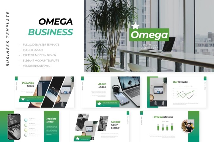 Omega Business Google Slides