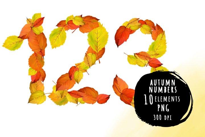 Golden autumn numbers