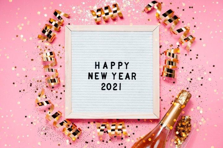 New Year festive bakcground