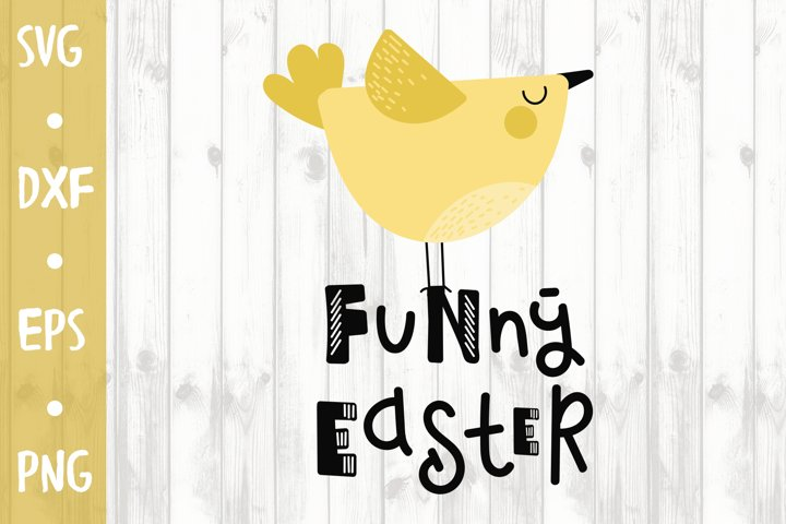 Funny Easter - SVG CUT FILE