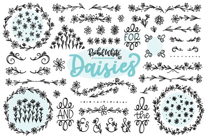 Daisies, Vector, PNG, SVG