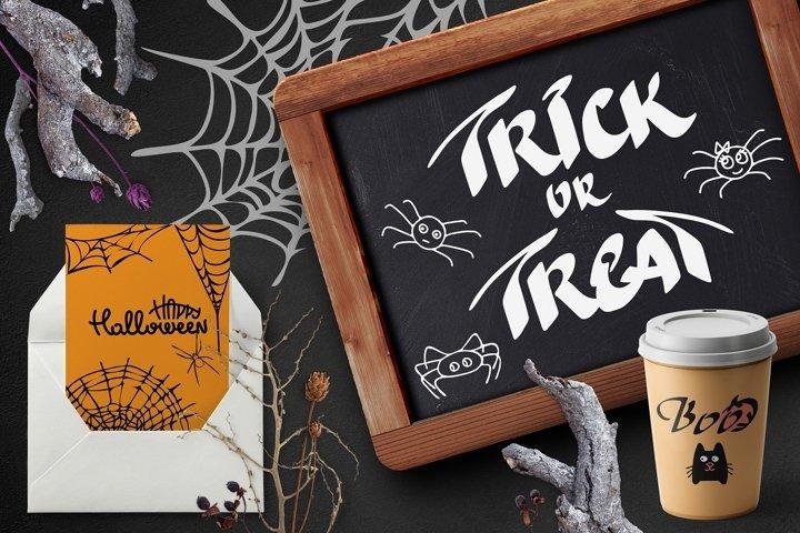BIG BUNDLE Happy Halloween SVG Quotes and Creatures