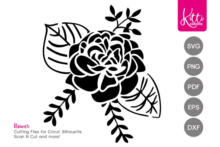 SVG Flower