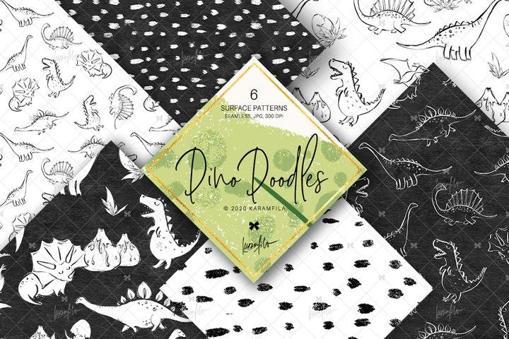 Dino Doodle Patterns