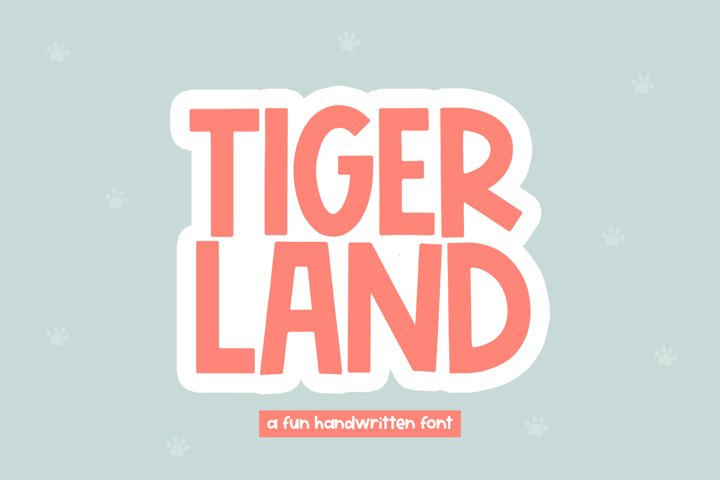 Tigerland - A Fun Handwritten Font