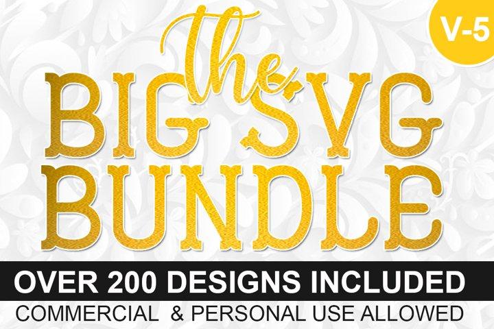 200 Designs The Big SVG Bundle Vol-IV