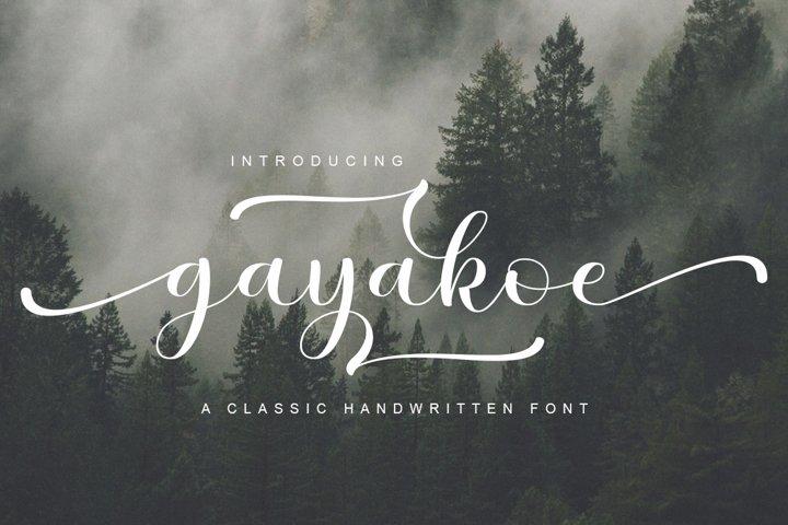gayakoe