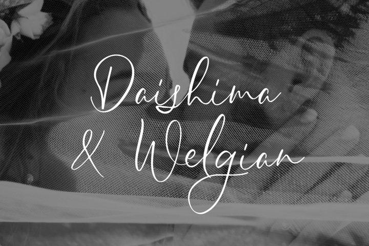 Sheilazain - Free Font of The Week Design2