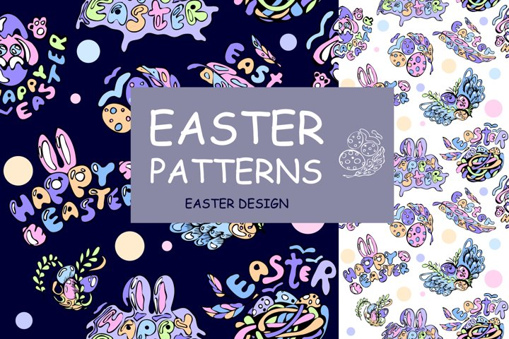 Easter patterns and design
