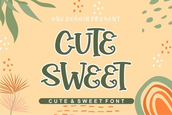 cute sweet