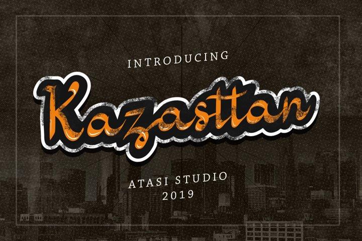 Kazasttan Font