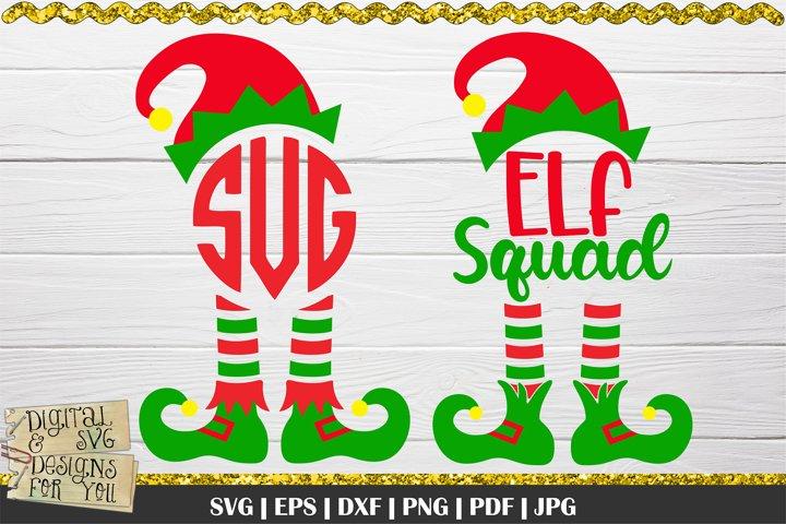 Elf Squad SVG | Elf Monogram SVG | Elf shirt svg | Elves