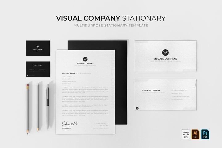 Visual Company   Stationery
