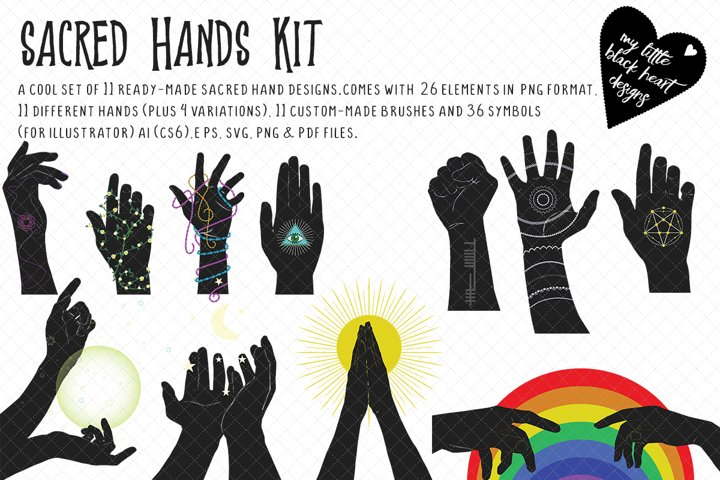 Sacred Hands Kit