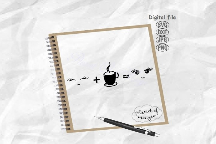 Coffee Svg, Coffee Love Svg, Coffee Life Svg, Tea Svg