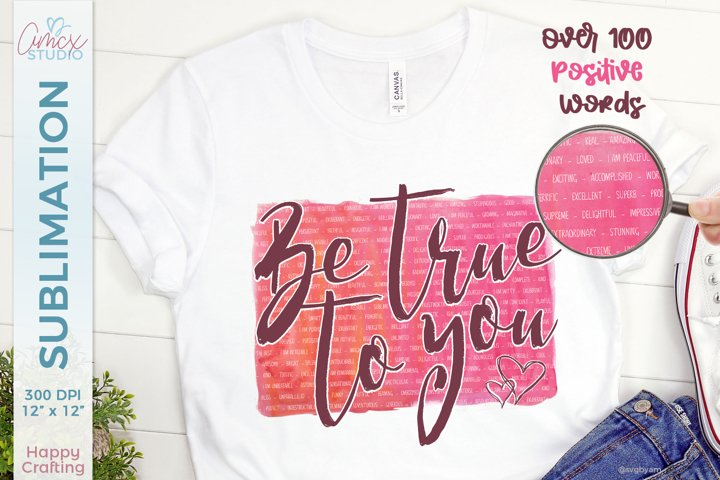 Girl Power Sublimation | Be True To You Sublimation