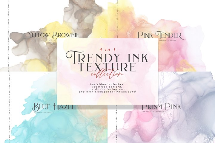 Trendy Ink Texture bundle