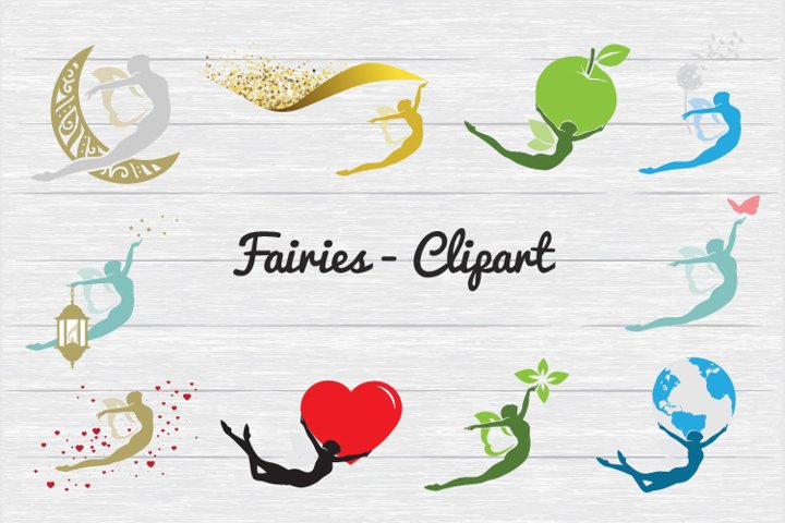 Fairies - Clipart