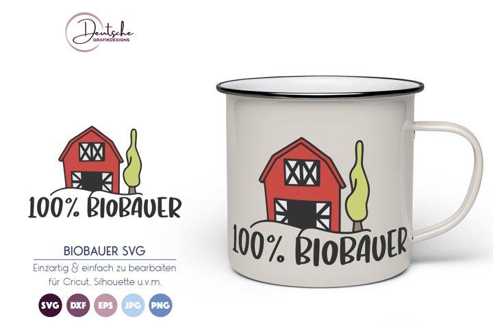Biobauer SVG | Bauernhof SVG