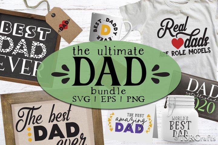 Dad Svg Bundle - 24 designs! - Ultimate DAD design bundle