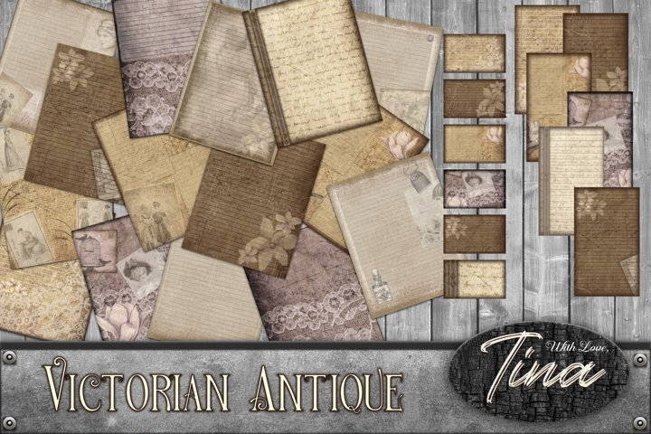 Victorian Antique Journal For All Your Thoughts Write It