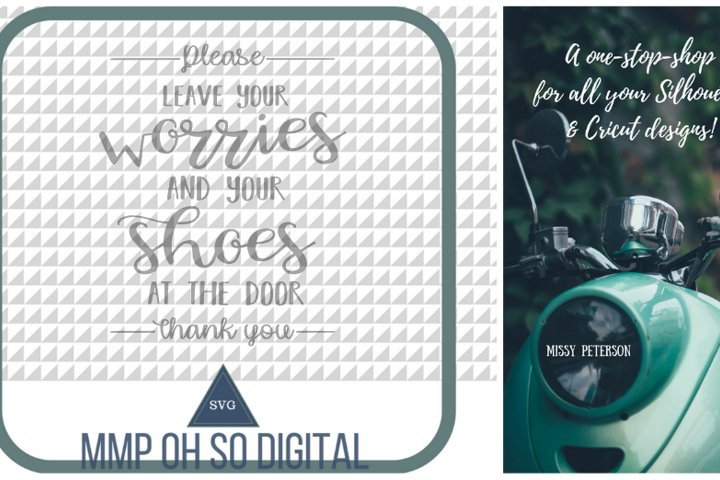 Leave Your Shoes at the Door SVG, Farmhouse svg, Farmhouse decor, cut file, for silhouette, for cricut