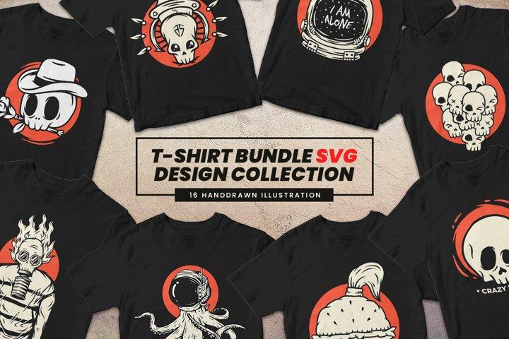T-Shirt Bundle SVG Designs Collection #1