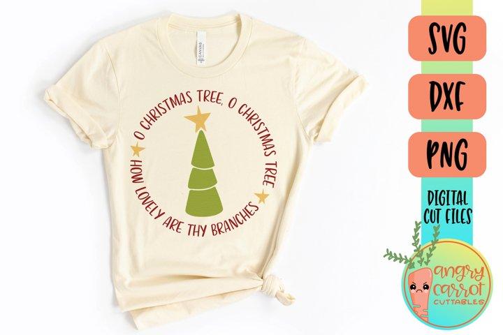 O Christmas Tree SVG Files | Christmas SVG