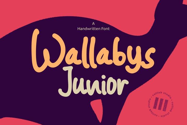Wallabys Junior - A Handwritten Font