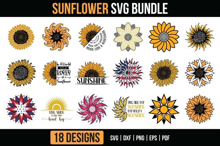 Sunflower SVG Bundle Vol.2